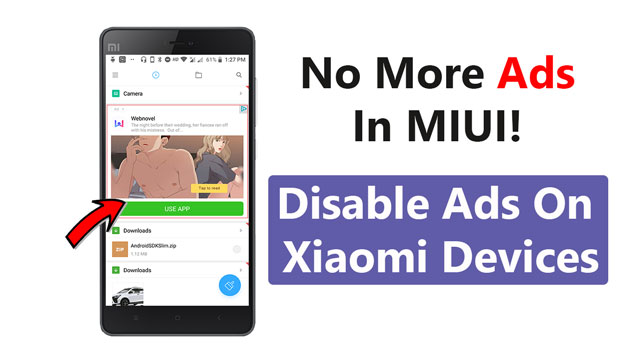 Disable Ads On Xiaomi Devices