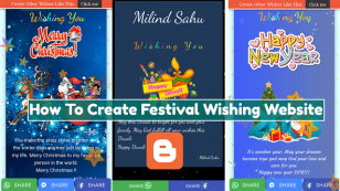 How To Create A Festival Wishing Website On Blogger 2020 [Step By Step Guide]