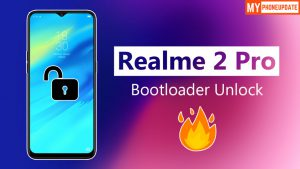 Official Method To Unlock Bootloader Of RealMe 2 Pro