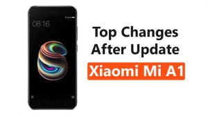 Xiaomi Mi A1 September Update Top Changes