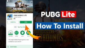 Download PUBG Mobile Lite From Any Country