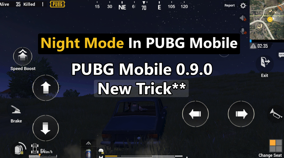 How To Play Night Mode In PUBG Mobile