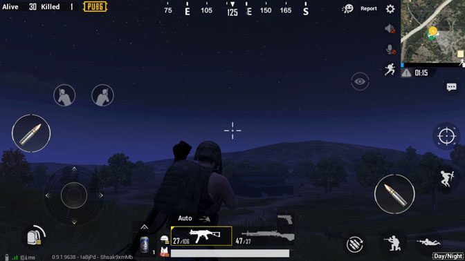 Night Mode in pubg mobile