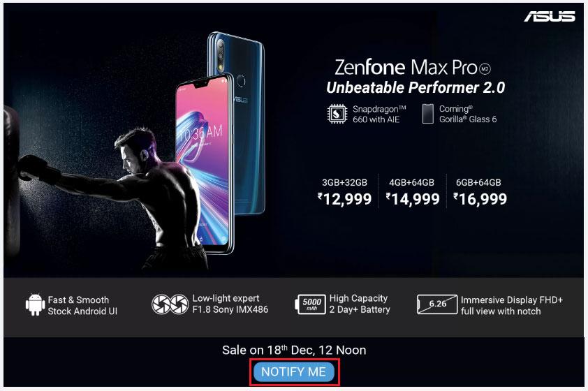 AutoBuy Asus Zenfone Max Pro M2