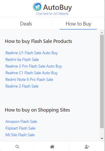 AutoBuy Flash Sale Extensions