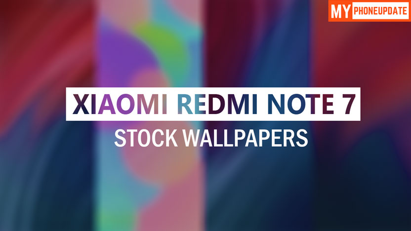 Download Xiaomi Redmi Note 7 Stock Wallpapers