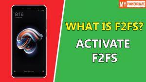 Flash F2FS ROM On Redmi Note 5 Pro