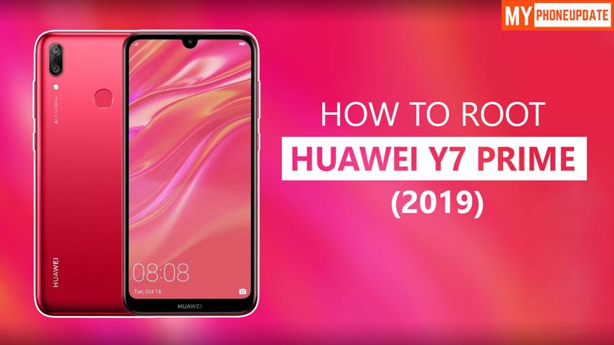Root Huawei Y7 Prime 2019