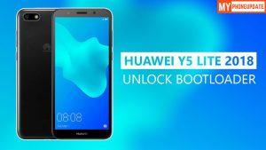 Unlock Bootloader On Huawei Y5 Lite 2018