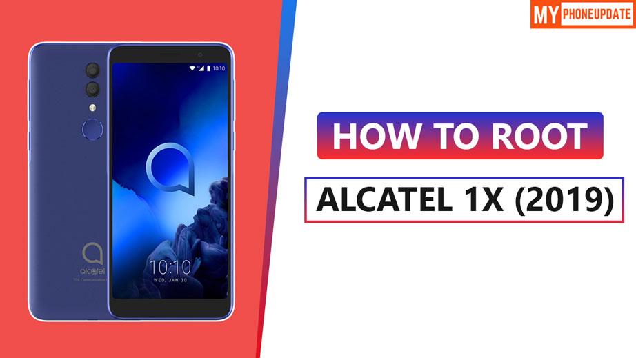 Root Alcatel 1x 2019
