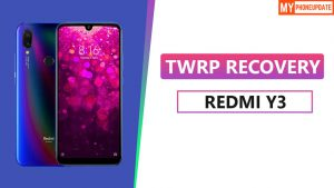 TWRP Recovery On Redmi Y3