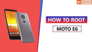 Root Motorola Moto E6