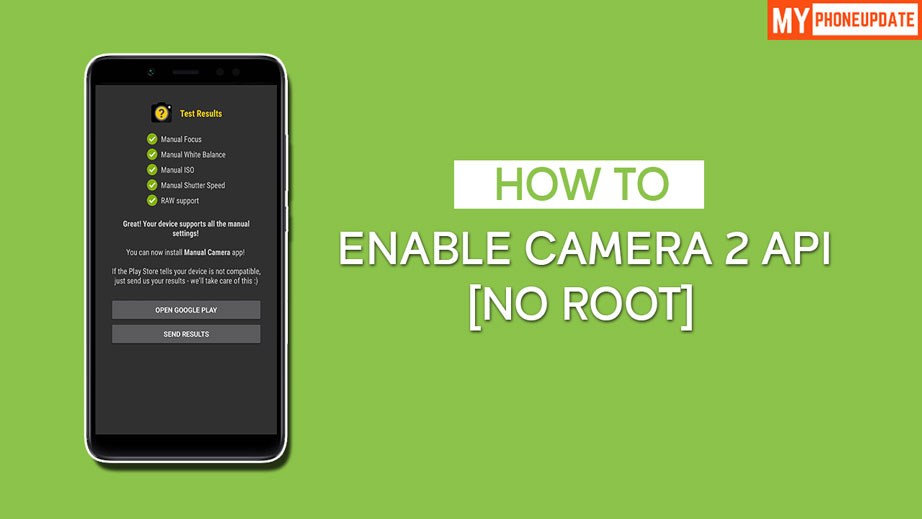 Enable Camera 2 API On Redmi Note 5 Pro Without Root