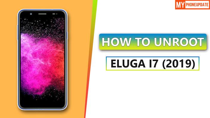 How To Unroot Panasonic Eluga I7 2019