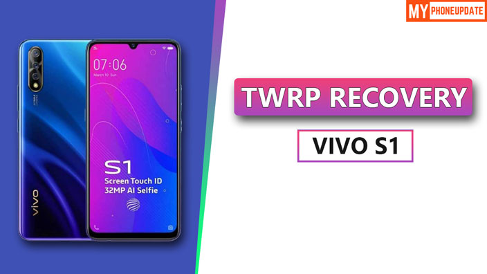 Install TWRP Recovery On Vivo S1