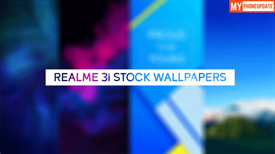 Realme 3i Stock Wallpapers
