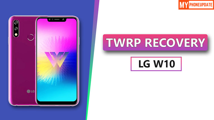 TWRP Recovery LG W10