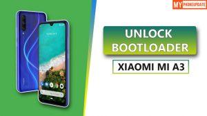 Unlock Bootloader Xiaomi Mi A3