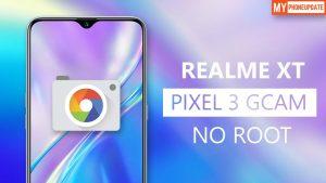 Install Google Camera On Realme XT