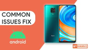 Redmi Note 9 Pro Common Issues and Problems