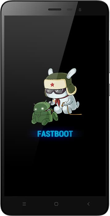 Xiaomi Fastboot Screen