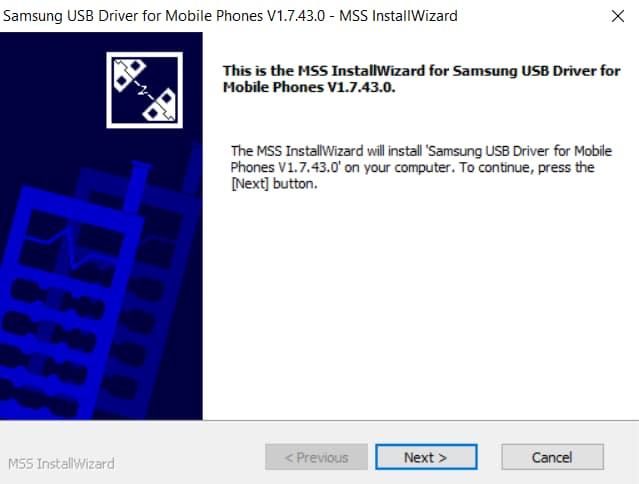 Install Samsung USB Drivers on Windows S1