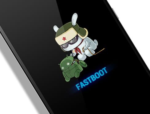 Xiaomi Fastboot Screen